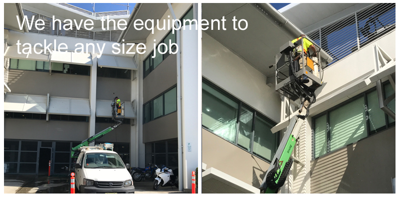 Professional Commercial building cleaning