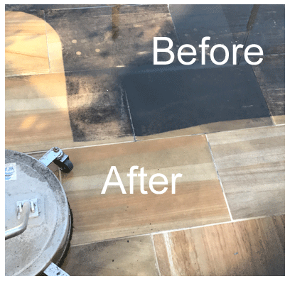 Pressure Cleaning Paths and Pool Surrounds