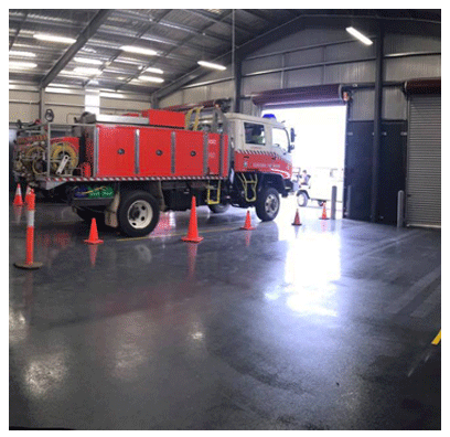 Pressure Cleaning Warehouse Floors and House Tile Roofs